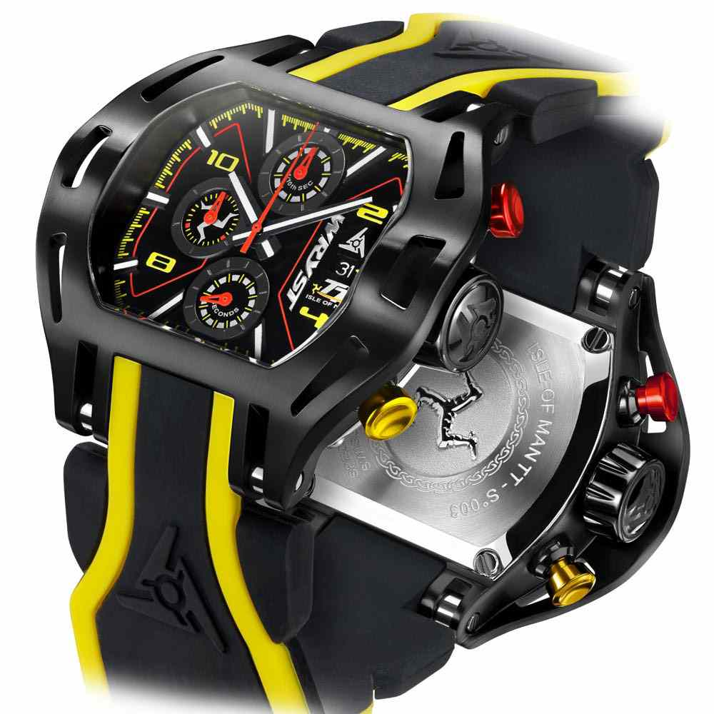 New Isle of Man TT Watch Wryst
