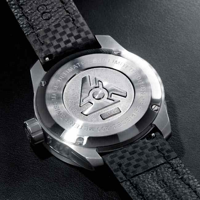Serial Number Engraved Limited Edition Watches