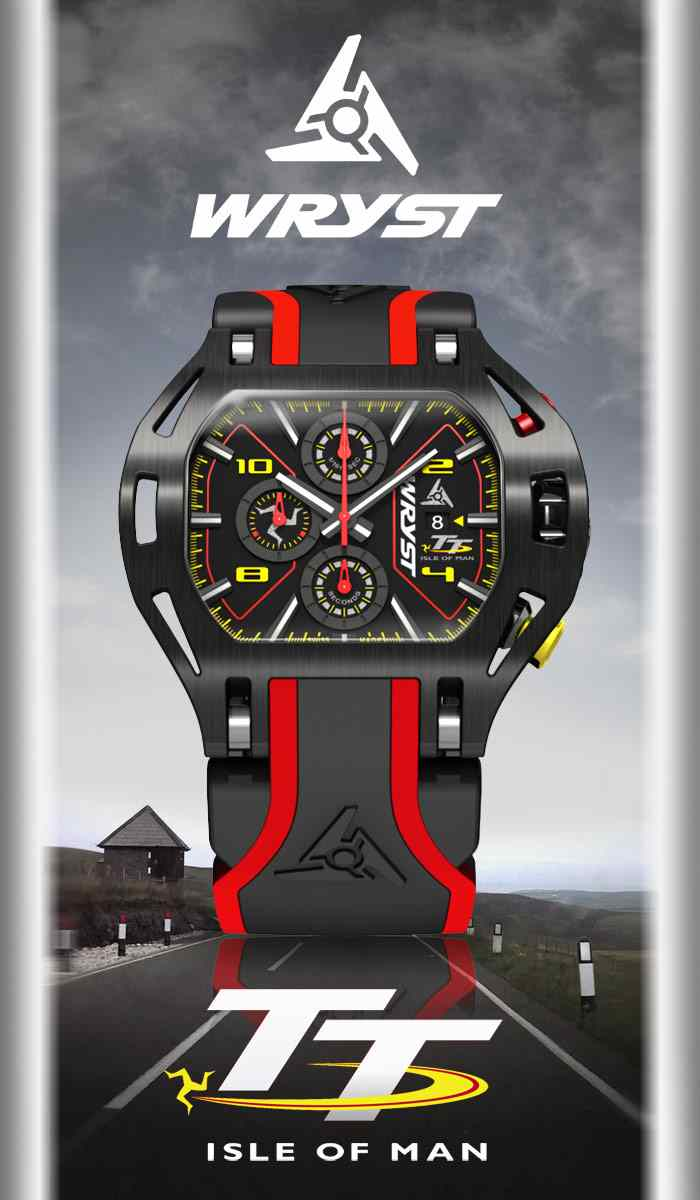 Luxury Racing Watch Wryst Isle of Man TT