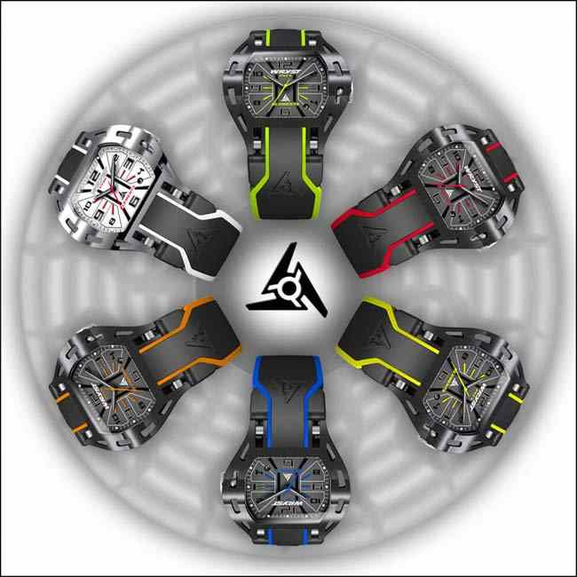 Swiss cool watches for men Wryst Elements