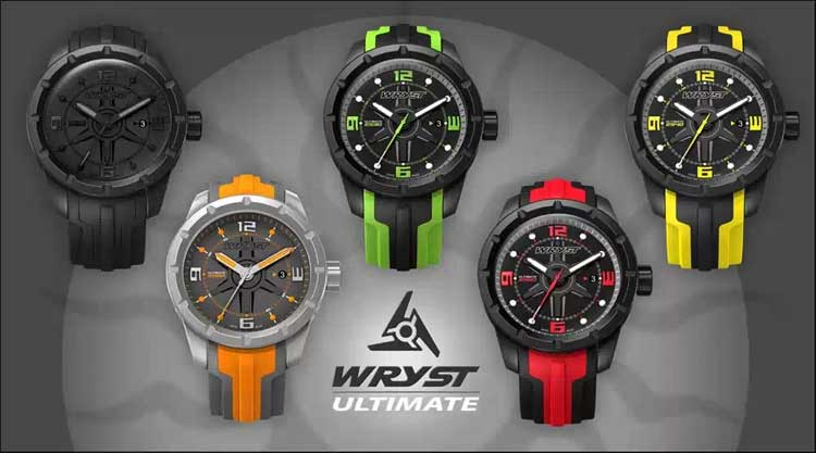 brand wryst swiss sport watches