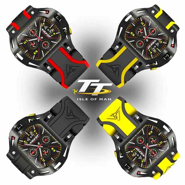 Wryst Red Motorsport Racing Watch TT 2019