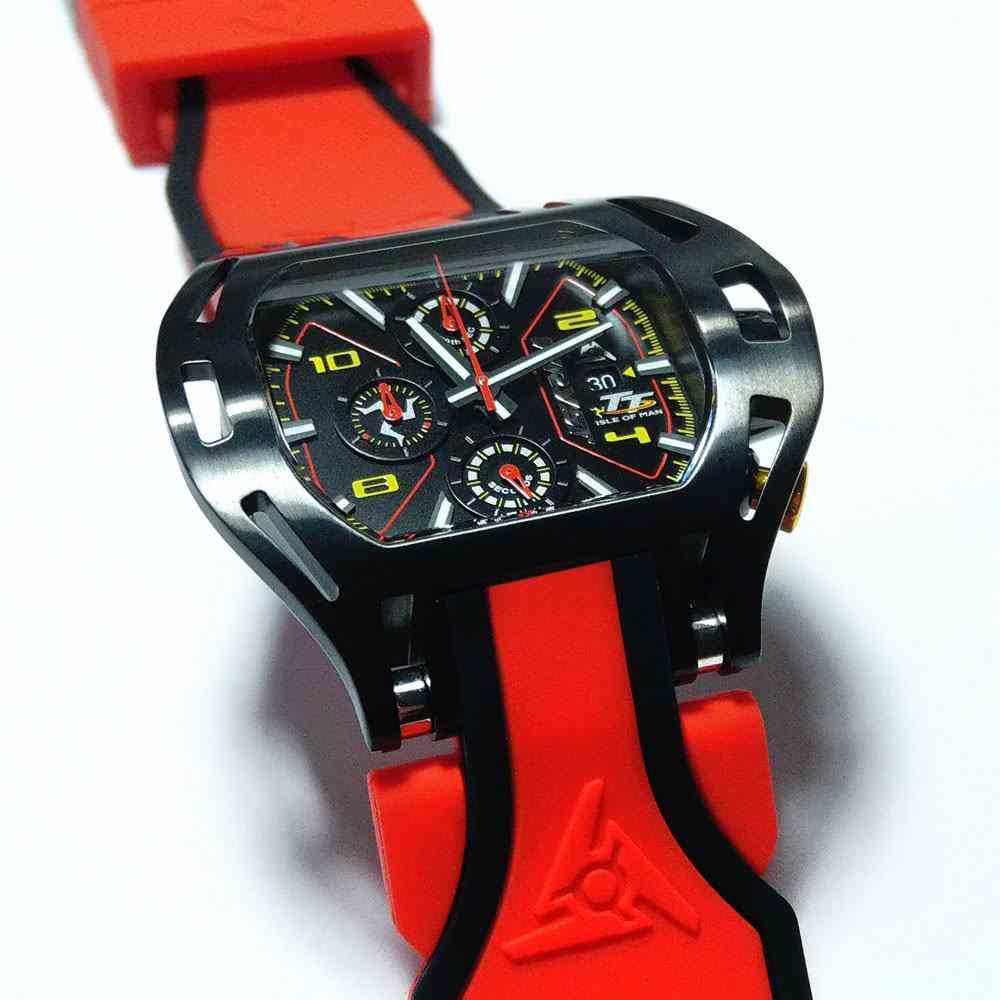 Red Wryst TT Racing Watch