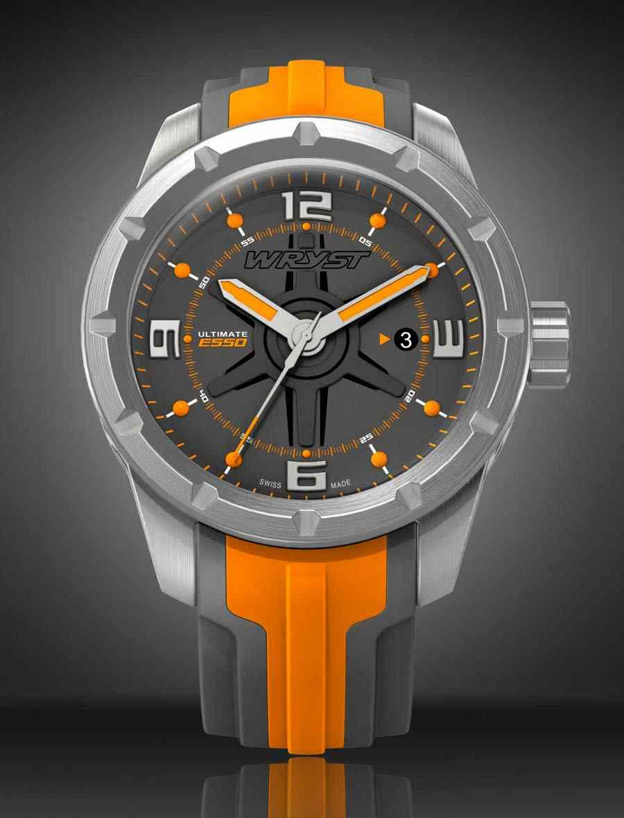 Orange Swiss watch limited edition for men
