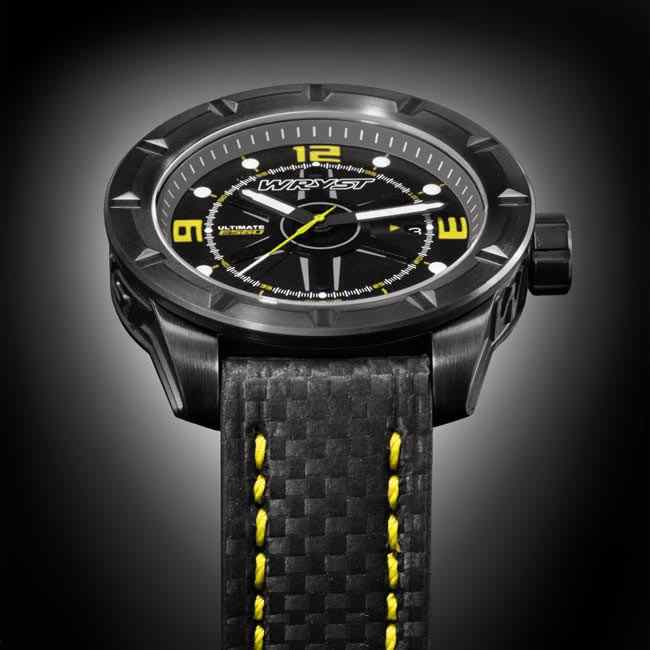 Black Limited Edition Watch Swiss Made