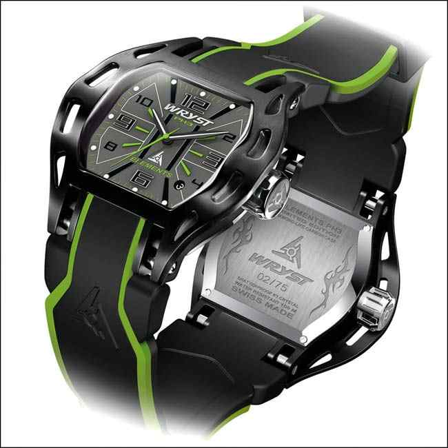 Watersport Watch with Black Design