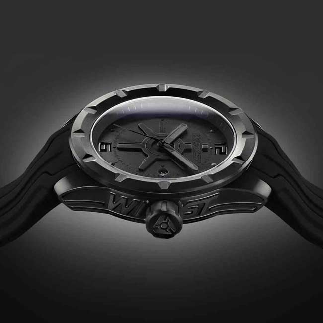Black Swiss Watch for Sports