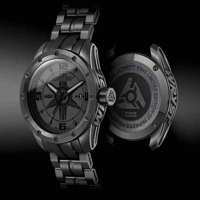 Wryst Black Watch for Men