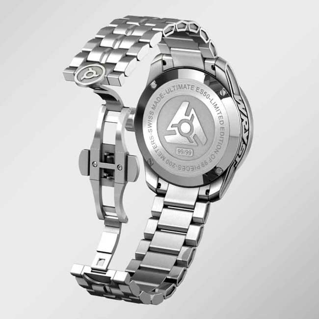Metal Swiss Watch Stainless Steel