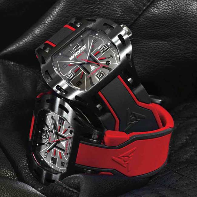Red Swiss Watch for Sports PH6