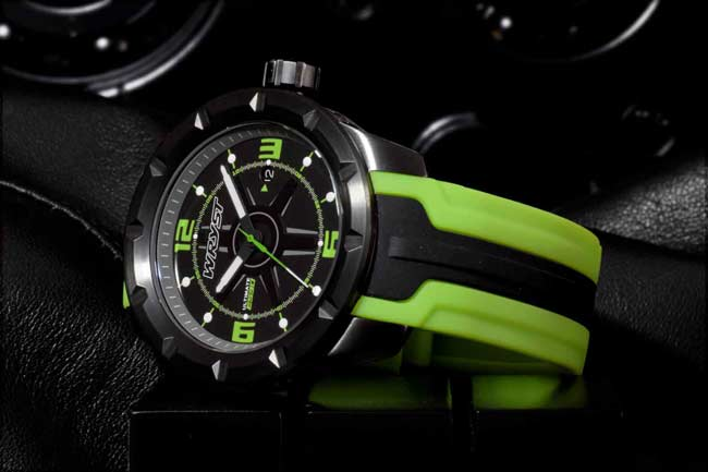 Swiss Black Sport Watch ES30