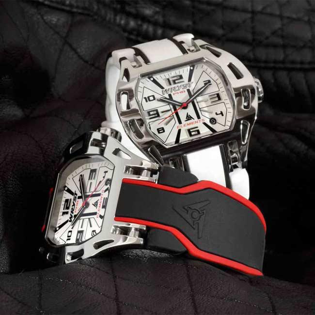 White Swiss Sport Watch Wryst PH8