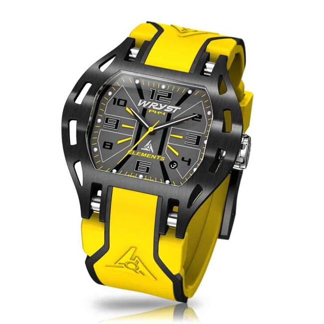 Yellow Sport Watch Swiss Made