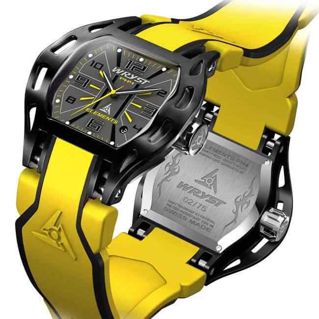 Reloj Suizo Amarillo Wryst