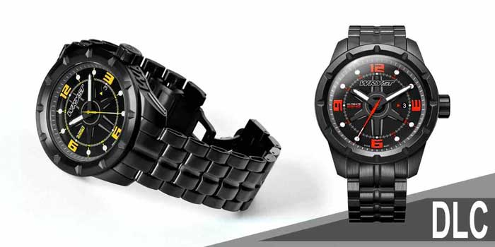 Wryst Ultimate Black DLC Tough sport watch Swiss Made