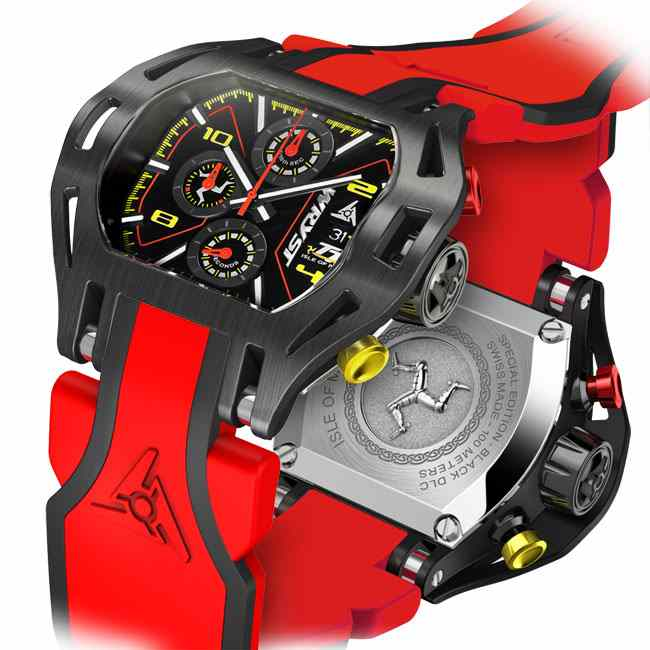 TT Watch Red Racing Watch