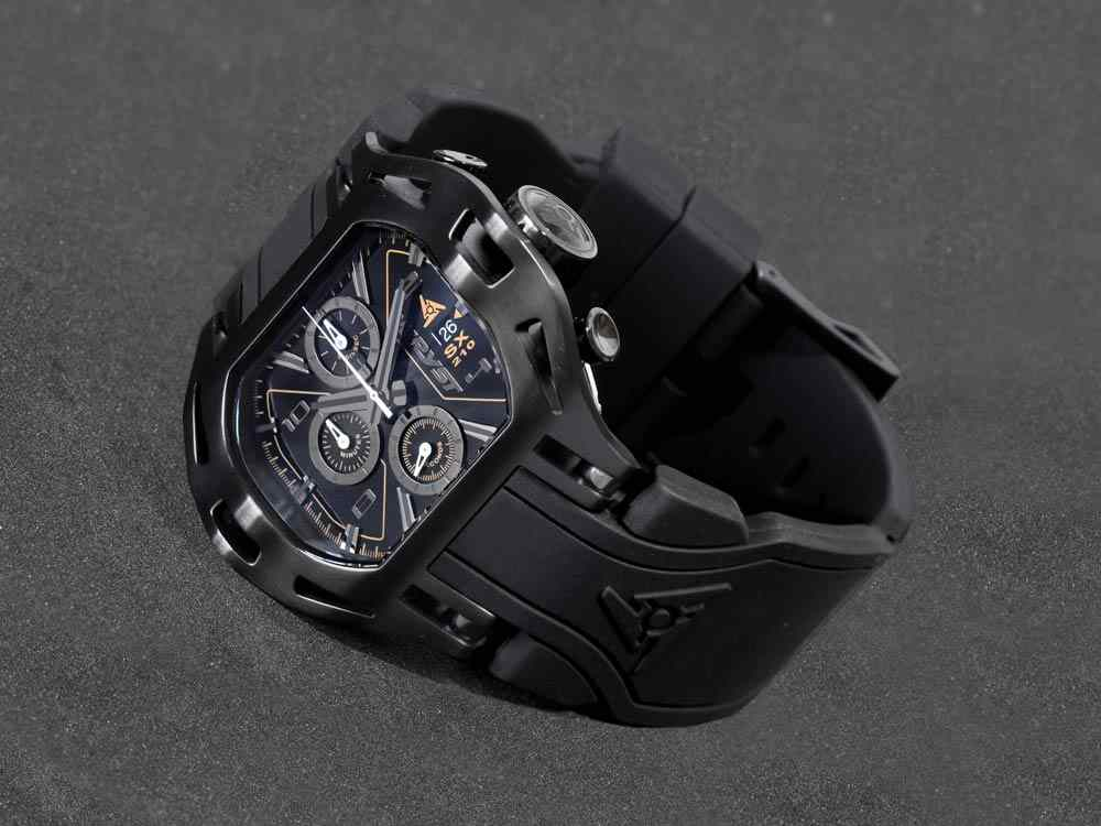 Wryst Black Luxury Watch