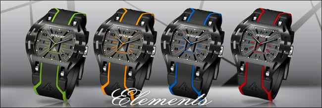 Wryst Elements Sport Watches