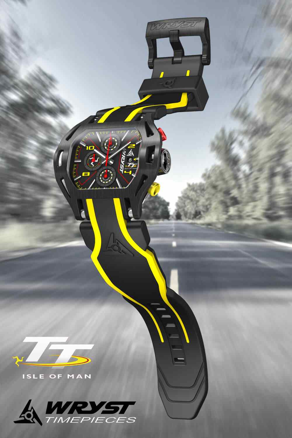 Wryst Isle of Man TT Watch