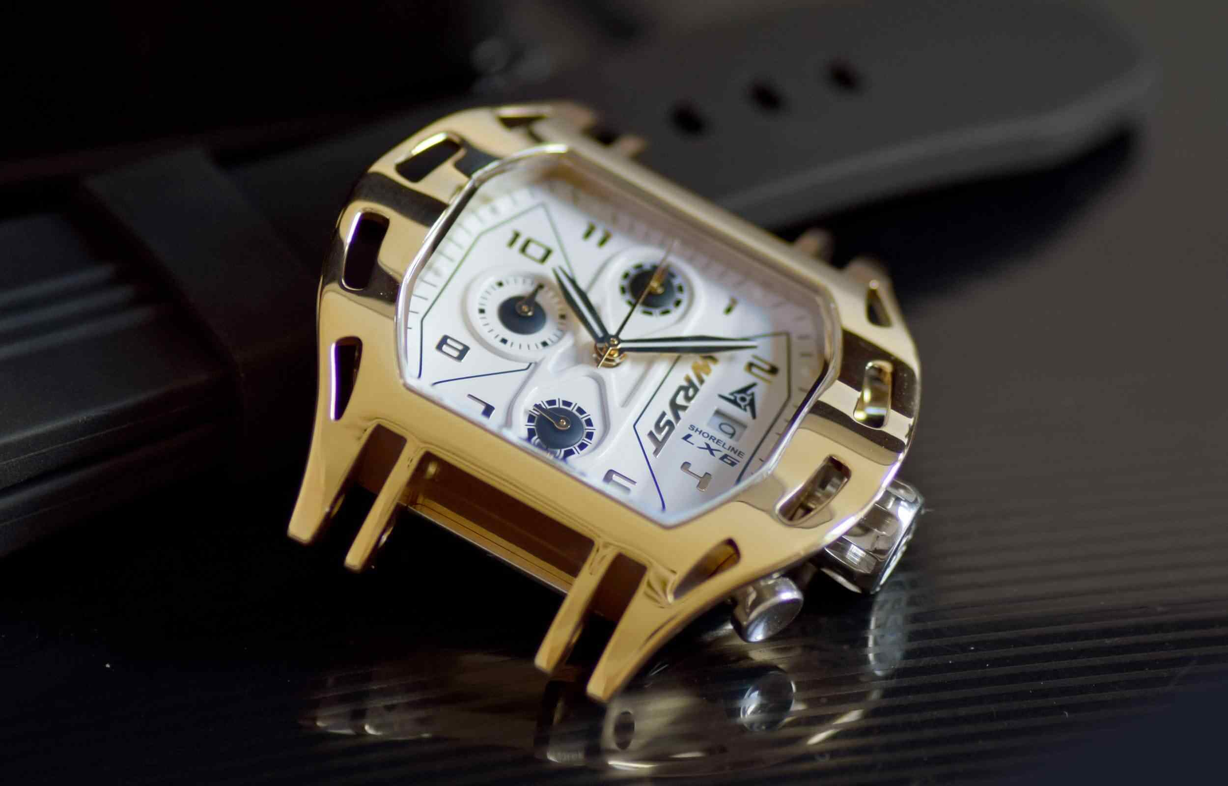 Swiss Made Luxury Gold Watch