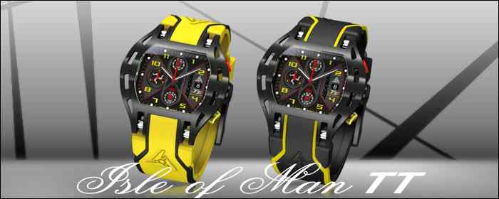 Wryst Isle of Man TT Swiss sport watch