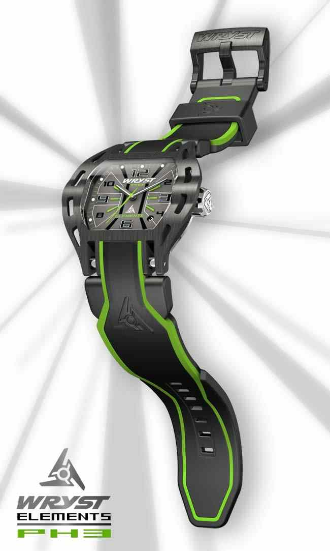 Cool Wryst Elements PH3 sports watch