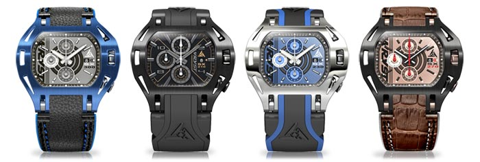 Wryst Luxury Chronograph Watches FORCE