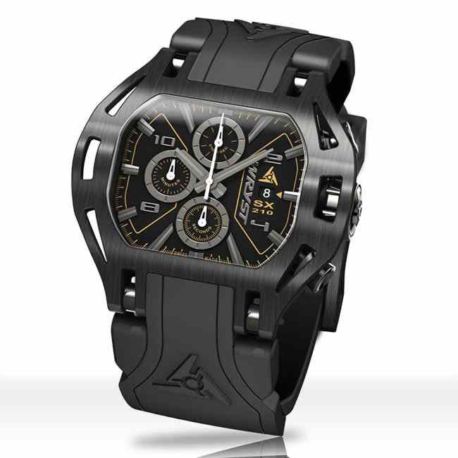 Black-on-black Watch Force SX210 for Men