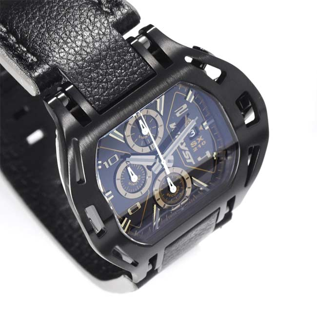 Black Swiss Luxury Chronograph Wryst
