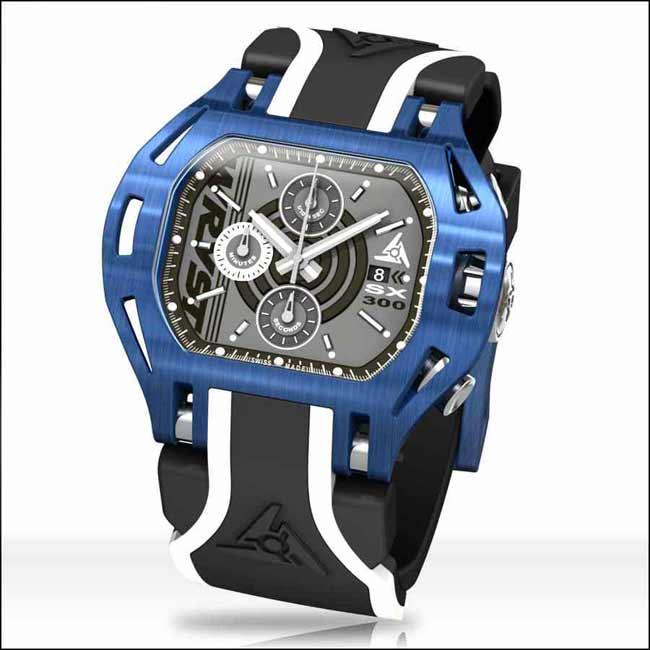 Luxus Schweizer Uhr Blaue