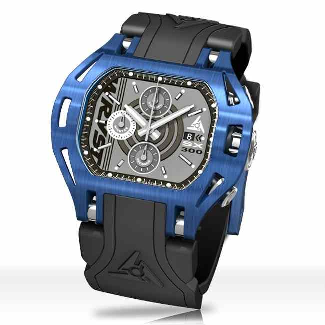 Blue Sports Watch Wryst Force SX300