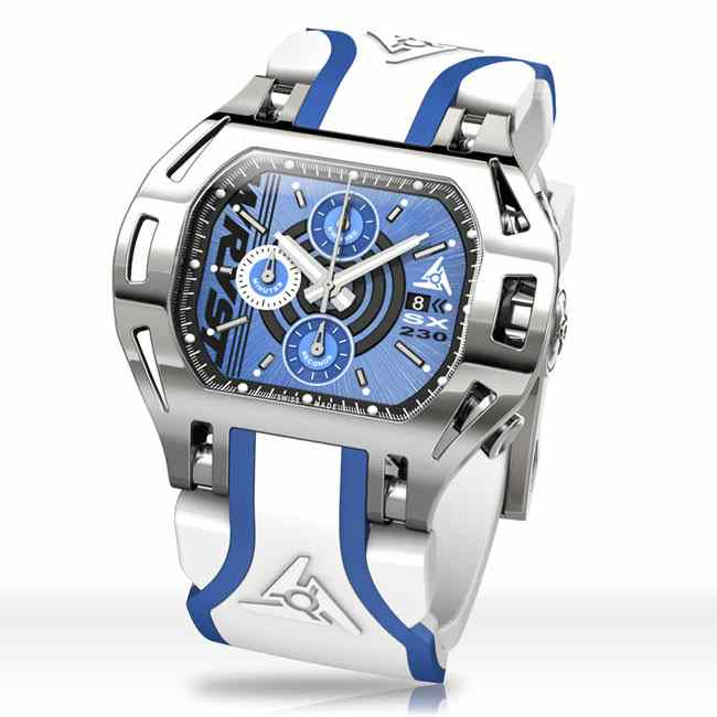 Blue Sports Watch Wryst Force SX230