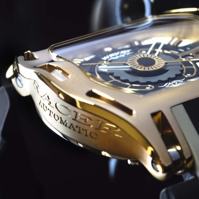 Gold Swiss Made Wryst SX3 Automatik
