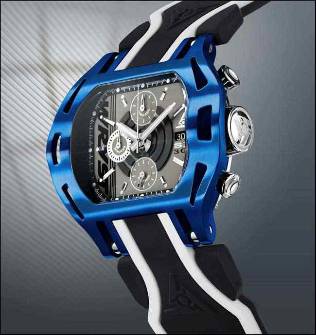 Chronograph Wryst Force in Blue