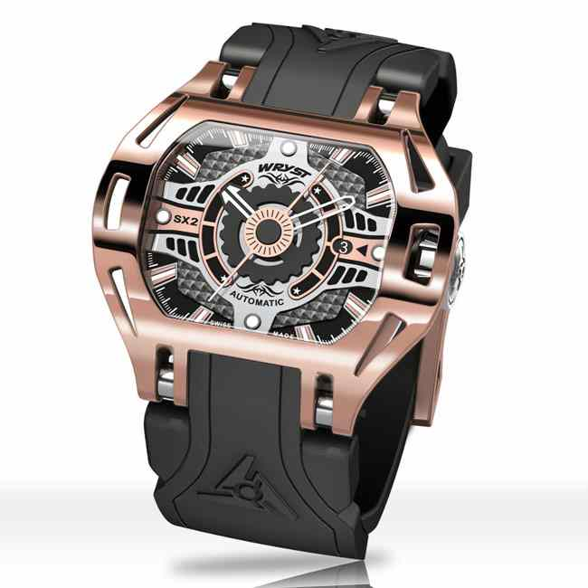 Montre Automatique Or Rose Wryst Racer SX2