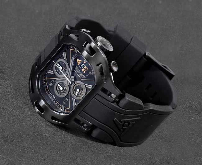 Wryst SX210 Montre Noire Suisse