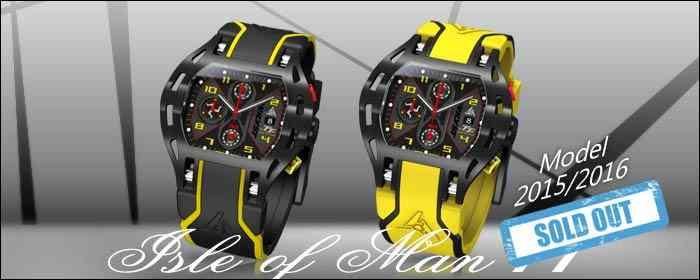 Reloj Suisso Carrera Wryst Isla de Man TT