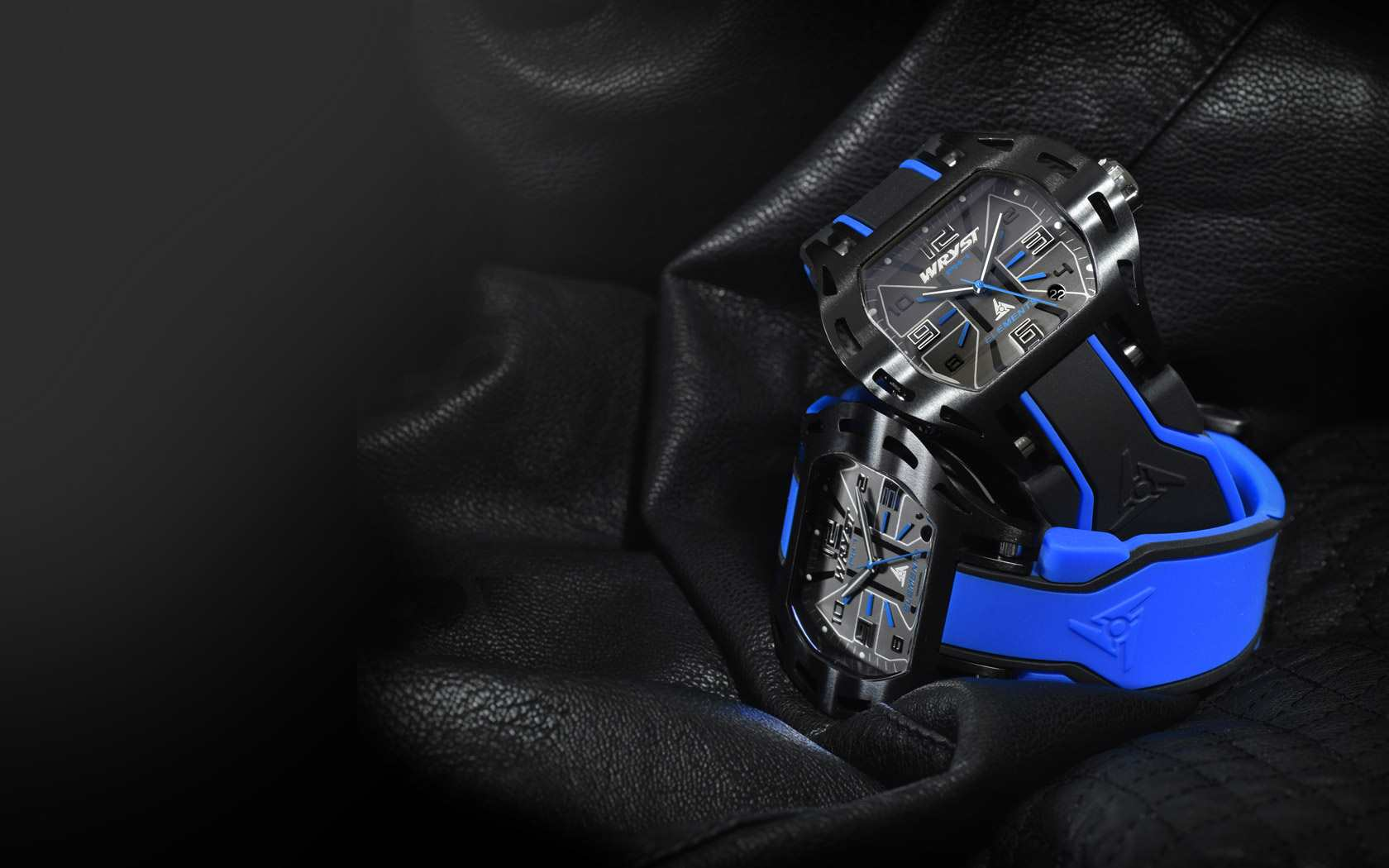 Wallpaper Blue Wristwatch