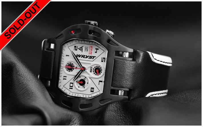 Luxury Swiss Sport Watch Wryst Motors MS2