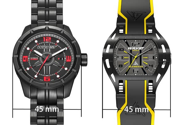 Big Watches for Men 45mm
