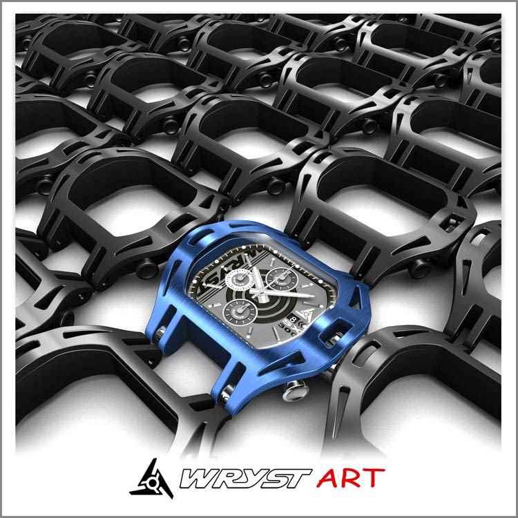 Black industrial watch