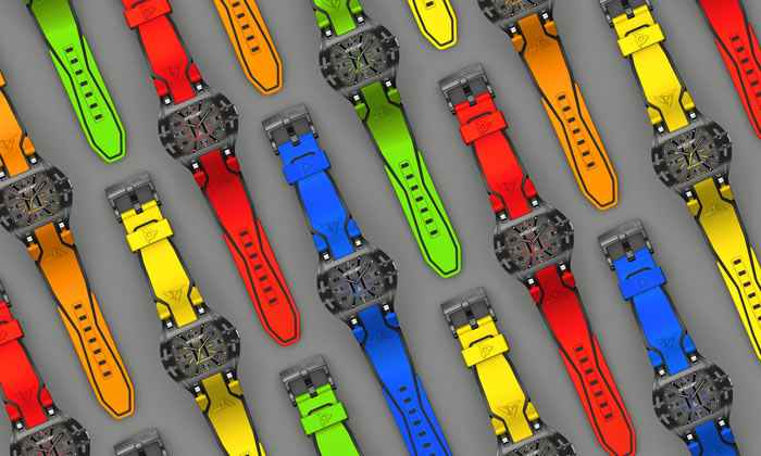 Colorful Swiss watch bands Wryst