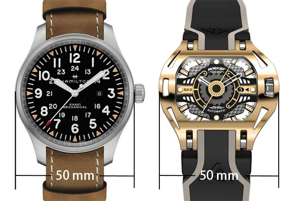 Mens Oversized Watches 50mm