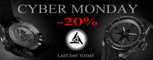 Cyber Monday at Swiss Sport Watch Brand Wryst