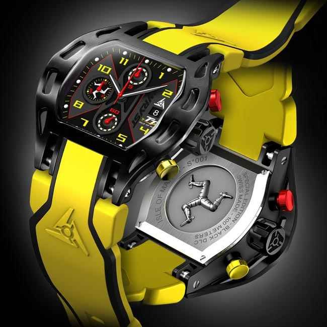 Motorsport IOMTT 2016 Swiss Sport Watch