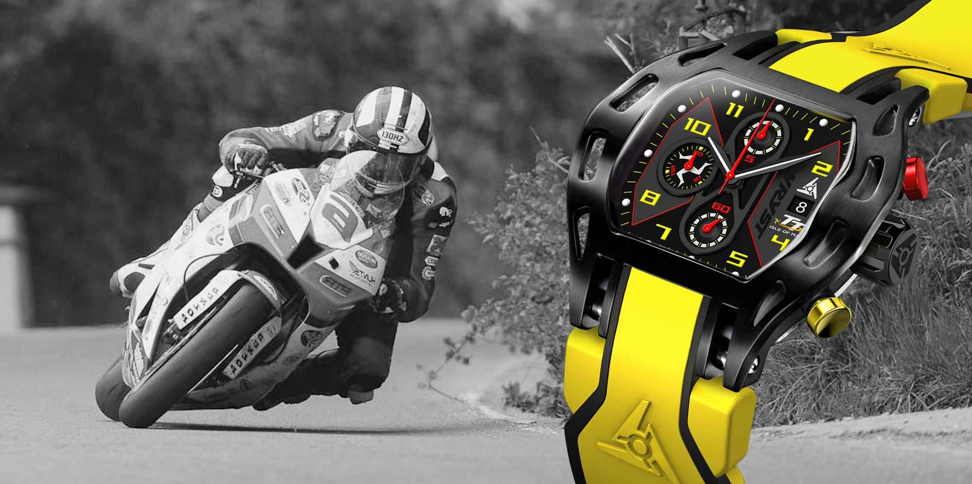 Isle of Man TT 2016 sports watch