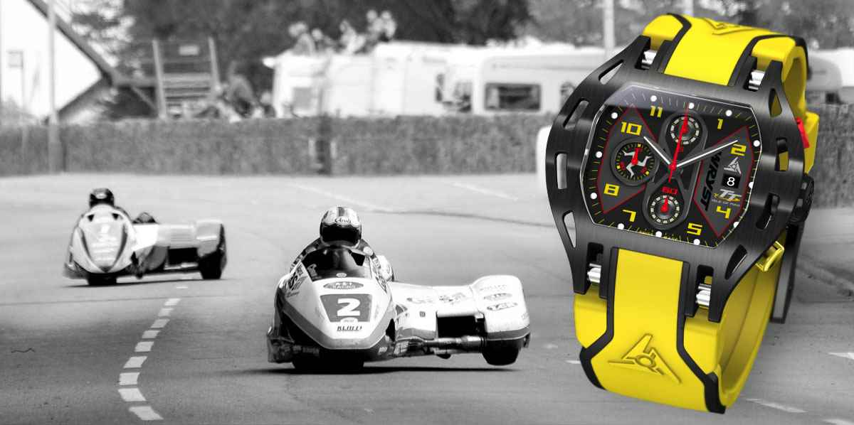 Isle of Man TT 2016 sports watch Wryst
