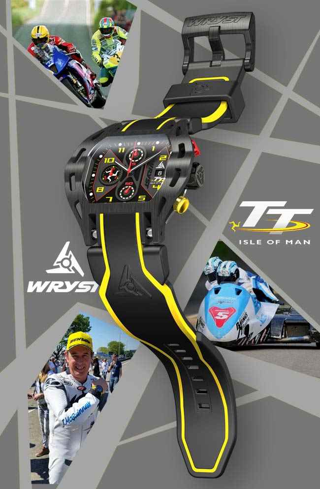 Wryst Isle of Man TT 2016 sport watch