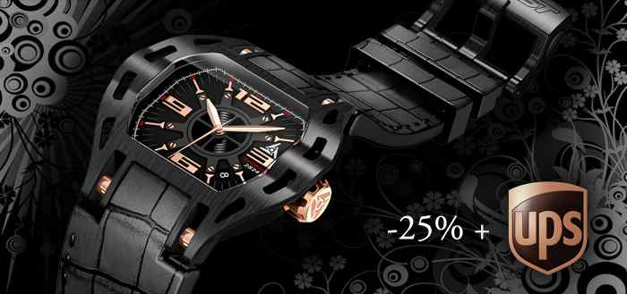 automatic swiss watch discount -25%