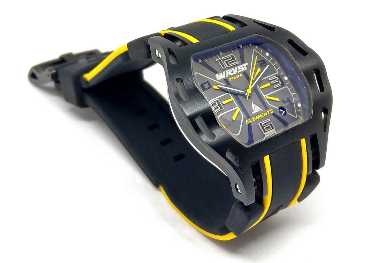 Black Sports Watch Wryst PH4